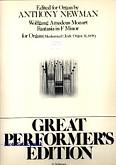 Ok�adka: Mozart Wolfgang Amadeusz, Fantasia in F Minor K. 608