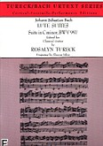 Ok�adka: Bach Johann Sebastian, Suita a-moll BWV 997, transkrypcja suity c-moll