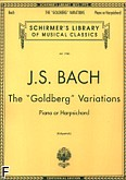 Okładka: Bach Johann Sebastian, The ,,Goldberg