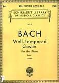 Okładka: Bach Johann Sebastian, Das Wohltemperierte Klavier z. 1