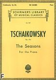 Okładka: Czajkowski Piotr, Pory roku, op. 37a