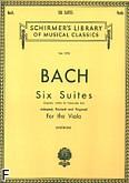Okładka: Bach Johann Sebastian, 6 suit wiolonczelowych - transkrypcja na altówkę