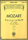Okładka: Mozart Wolfgang Amadeusz, Koncert fortepianowy nr 19, F-dur, K.459