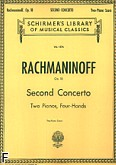 Ok�adka: Rachmaninow Sergiusz, Concerto in C minor For the Piano Op. 18 No. 2