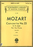 Ok�adka: Mozart Wolfgang Amadeusz, Concerto No. 23 In A major For the Piano, K. 488