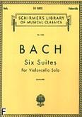 Ok�adka: Bach Johann Sebastian, Six Suites For Violoncello Solo