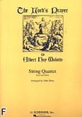 Okładka: Malotte Albert Hay, The Lord's Prayer na kwartet smyczkowy (parytura + głosy)