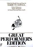 Okładka: Schumann Robert, Adagio i Allegro, op. 70 (French Horn / Piano)