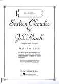 Okładka: Bach Johann Sebastian, Sixteen Chorales by J.S.Bach