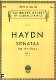 Okładka: Haydn Franz Joseph, 20 Sonatas for the piano, book 2 (11-20)