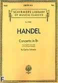 Ok�adka: H�ndel George Friedrich, Koncert B-dur na harf� solo