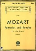 Okładka: Mozart Wolfgang Amadeusz, Fantasias and Rondos