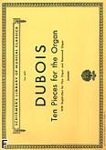 Okładka: Dubois Theodore, 10 utworów na organy