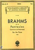 Okładka: Brahms Johannes, Fantasies, Capriccios And Intermezzi, op. 116