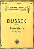 Okładka: Dussek Johann Ladislaus, 6 Sonatin, op. 20