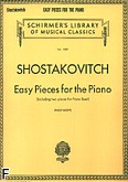 Ok�adka: Szostakowicz Dymitr, Easy Pieces for the Piano (including two pieces for Piano Duet)