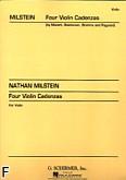 Okładka: Milstein Nathan, 4 kadencje (Mozart K.219, Beethoven op. 61, Brahms op. 77, Paganini op. 6)
