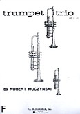 Ok�adka: Muczynski Robert, Trumpet Trio, op. 11, nr 1
