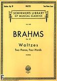Ok�adka: Brahms Johannes, Walce, op. 39 (Set)