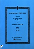 Okładka: Bloch Ernest, Poems Of The Sea