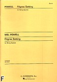 Okładka: Powell Mel, Filigree Setting (1959) (partytura)