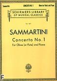 Okładka: Sammartini Giuseppe, Koncert nr 1