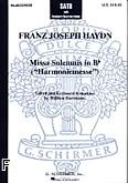 Okładka: Haydn Franz Joseph, Missa Solemnis B-dur (Harmoniemesse)