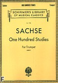 Okładka: Sachse Ernest, One Hundred Studies for Trumpet