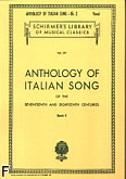 Ok�adka: Parisotti Alessandro, Anthology Of Italian Song Of The 17th And 18th Centuries book 2