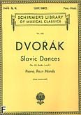 Okładka: Dvořák Antonin, Tańce słowiańskie, op. 46 - z. 1 i 2