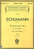 Ok�adka: Schumann Robert, Concerto In A minor, Op. 54