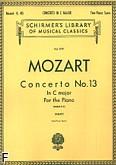 Okładka: Mozart Wolfgang Amadeusz, Koncert fortepianowy nr 13 C-dur, K. 415
