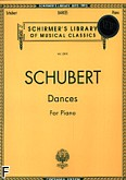 Okładka: Schubert Franz, Dances