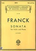 Okładka: Franck César, Sonata A-dur