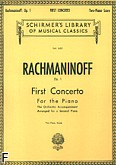 Okładka: Rachmaninow Sergiusz, Koncert fortepianowy nr 1, fis-moll, op. 2