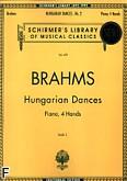 Okładka: Brahms Johannes, Tańce węgierskie z. 2