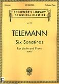 Ok�adka: Telemann Georg Philipp, Six Sonatinas