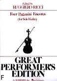 Ok�adka: Paganini Niccolo, 4 Paganini Encores