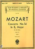 Okładka: Mozart Wolfgang Amadeusz, Koncert fortepianowy nr 14 Es-dur, K.449