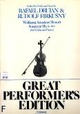 Okładka: Mozart Wolfgang Amadeusz, Sonata In B Flat, K. 454 (Piano / Violin)