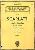 Okładka: Scarlatti Domenico, 60 Sonat w dwóch częściach z. 1