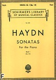 Okładka: Haydn Franz Joseph, Sonatas For the piano - book 1