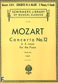 Ok�adka: Mozart Wolfgang Amadeusz, Concerto No. 12 In A major For the Piano, K. 414