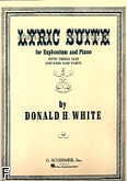 Ok�adka: White Donald H., Lyric Suite