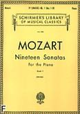 Okładka: Mozart Wolfgang Amadeusz, 19 Sonat fortepianowych z. 1