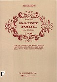 Ok�adka: Mendelssohn-Bartholdy Feliks, Saint Paul, an Oratorio