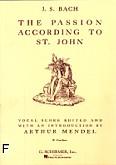Ok�adka: Bach Johann Sebastian, St. John Passion