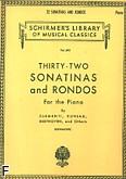 Okładka: Kleinmichel Richard, 32 sonatiny i ronda