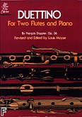 Ok�adka: Doppler Albert Fran�ois, Duettino for Two Flutes and Piano, Op. 36