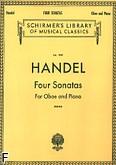 Ok�adka: H�ndel George Friedrich, 4 sonaty na ob�j i fortepian
